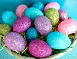 cheap easter eggs glitter easter eggs two