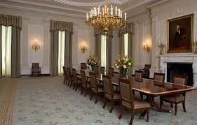 michelle obama reveals fancy white house state dining room makeover