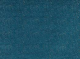 an all over jacquard velvet design with a subtle metallic effect