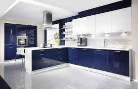 best contemporary kitchen designs kitchen high glossy modern blue kitchens modern kitchen designs