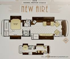 Class A Floor Plans by Newmar Mount Comfort Rv Greenfield Indiana
