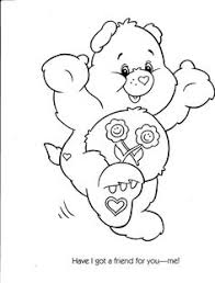 care bear color care bears cartoon characters coloring
