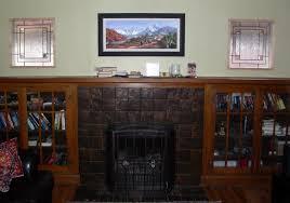 fireplace windows 1