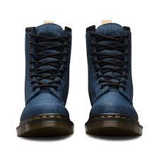 womens boots vegan martens castel womens 8 eyelet vegan boots indigo