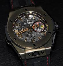 golden ferrari with diamonds hublot big bang ferrari magic gold watches pinterest