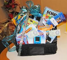 travel gift basket use baskets as auction items and wrap up more profits