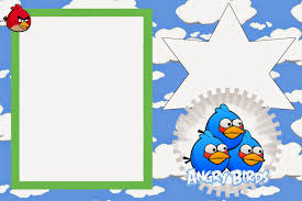 Free Printable Invitation Cards Angry Birds With Clouds Free Printable Invitations Oh My