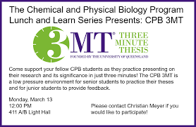 cpb newsletter october 2017 chemical and physical biology program