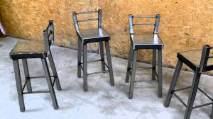 Wood And Metal Bar Stool What Can You Use To Cut Metal Bar Stools Youtube