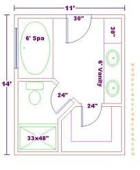 bathroom and closet floor plans free 10x18 master bathroom