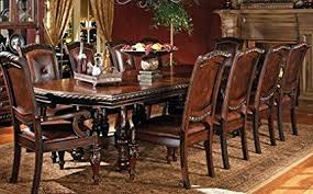 48 x 96 table amazon com steve silver company antoinette dining table with 24