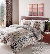 Zebra Print Single Duvet Set Animal Print Curtains Bedding Sets U0026 Duvet Covers Ebay