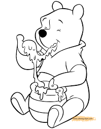 winnie the pooh printable coloring pages disney coloring book