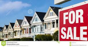 row houses for sale in san francisco royalty free stock