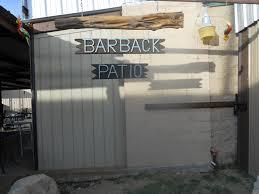 The Barn Door Odessa Tx by Bar Back Patio Odessa Tx
