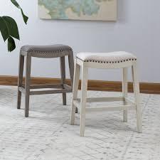 Modern Kitchen Counter Chairs Belham Living Newport Backless Counter Stool Hayneedle