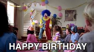 happy birthday creepy clown scary clowns are creepy as hell here s why nobody will miss them when