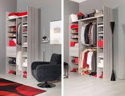 petit dressing chambre idée dressing chambre