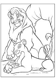lion coloring sheet kids coloring