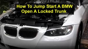 how to charge a bmw car battery how to jump start a bmw e90 335i 328 etc votd