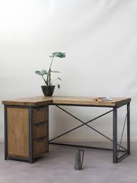 French Industrial Desk Konk Industrial Corner Desk Furniture Ideas Pinterest