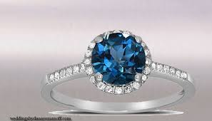 engagement rings with blue stones blue topaz meaning and its use as engagement ring wedding and