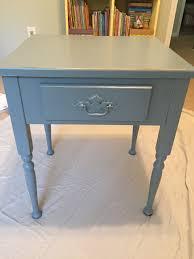 Chalk Paint Side Table Chalk Paint Nursery Side Table Pearls U0026 Postcards