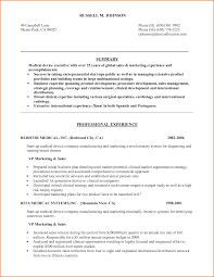 Sales Resume Example by Medical Device Resume Examples Resume Format 2017