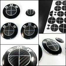 black and white bmw roundel black black carbon fiber roundel decal bmw badge emblems rims