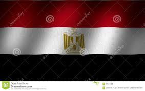 Red White Black Flag Egypt Flag Stock Video Illustration Of Golden Fabric 94537229