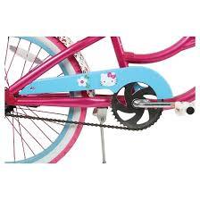 kids kitty cruiser bike pink 20