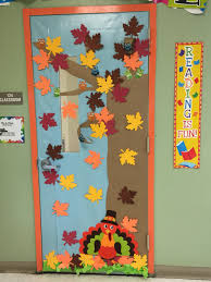 Classroom door decoration fall decoraci³n de puerta oto±o