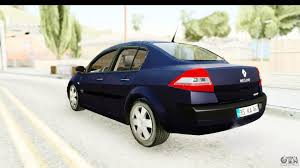 renault sedan 2016 renault megane 2 sedan 2003 v2 for gta san andreas