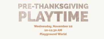 thanksgiving indoor play playground world warrensville heights