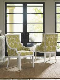 Ivory Key Aqua Bay Chair Lexington Home Brands