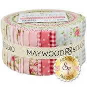heather by jennifer bosworth for maywood studio shabby fabrics