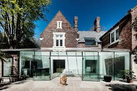 Modern Traditional House 30 Spectacular Modern Glass Facades Presented On Freshome