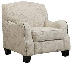 Traditional Accent French Script Traditional Accent Chair Coaster 900560