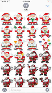 christmas stickers app shopper merry christmas stickers for imessage stickers