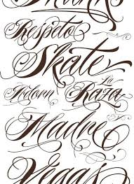 25 best ideas about lettering styles on