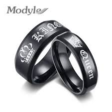 aliexpress buy modyle new fashion wedding rings for online shop modyle 2017 new fashion engagement ring black king and