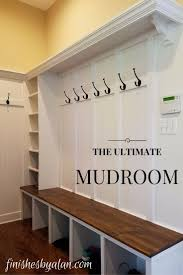 bench built in mudroom bench ana white mudroom bench diy