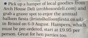 arch house deli bristol news