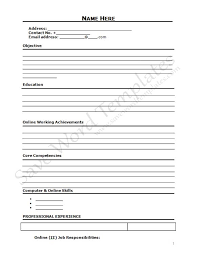 download resume format write the best resume cool idea where