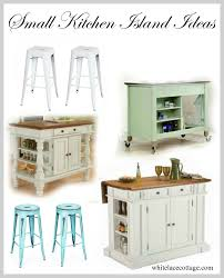 Ideas For Small Kitchen Islands by Small Kitchen Island Ideas With Seating White Lace Cottage