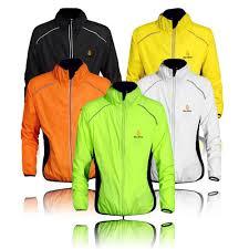 reflective cycling jacket amazon com wolfbike cycling jacket jersey wind coat windbreaker