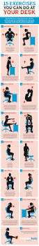 Exercise Chair As Seen On Tv Best 25 Desk Exercises Ideas On Pinterest Office Workouts
