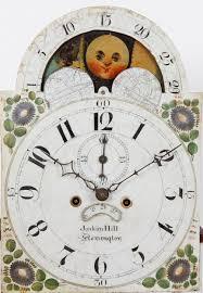 clock made of clocks joakim hill flemington nj tall case clock adams brown co