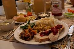 how many calories will we really eat on thanksgiving day