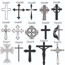memory cross ornament engraved gift collection